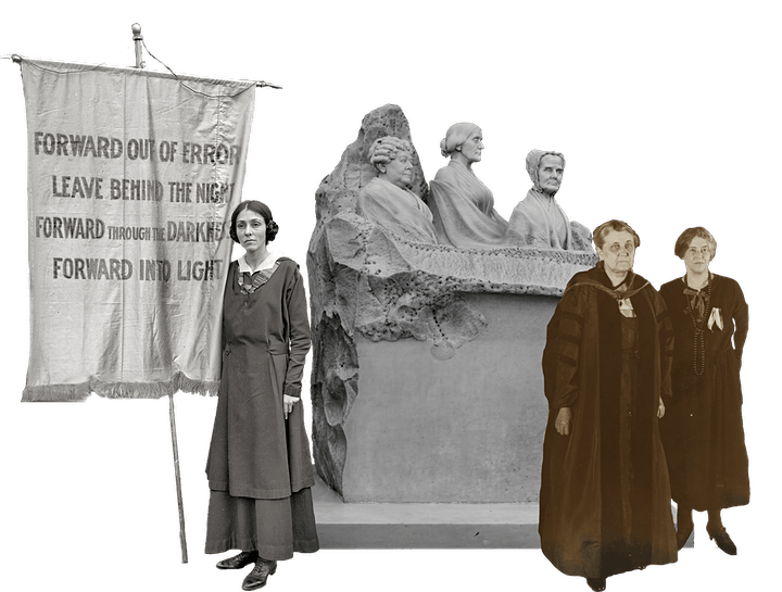 Memory Parlor Commemorating Women's Equality Day image