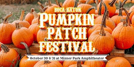 2021 Boca Pumpkin Patch Festival tickets