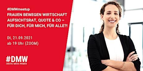 FRAUEN BEWEGEN WIRTSCHAFT - AUFSICHTSRAT, QUOTE & CO Tickets