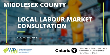 Middlesex Local Labour Market Planning Consultation tickets