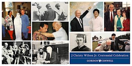 Dr. J Christy Wilson Jr. Centennial Celebration Luncheon tickets