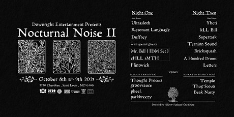 Nocturnal Noise 2 tickets