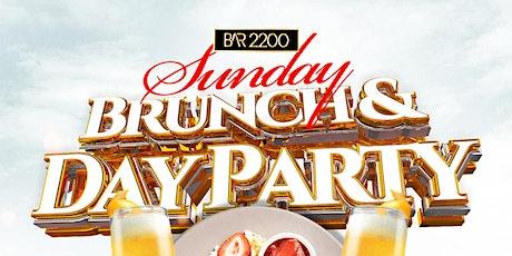 BRUNCH N MUNCH SUNDAYS AT BAR 2200 tickets