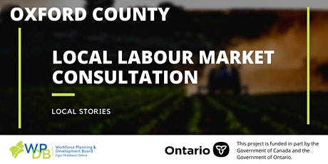 Oxford Local Labour Market Planning Consultations tickets