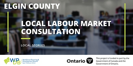 Elgin Local Labour Market Planning Consultations tickets