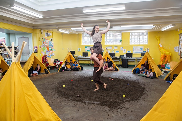 Upswing & The Spark Arts for Children:  Seasons-Beeston Library, 2pm image