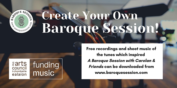 Baroque Session: Online Performance with Athenry Sinfonietta & Friends image