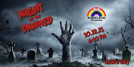 Night of the Damned Adult Halloween Party tickets