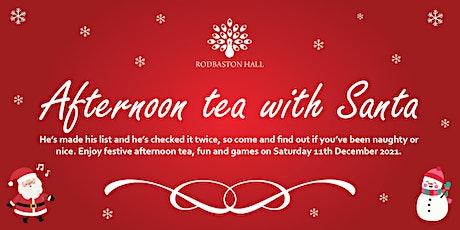 Afternoon tea with Santa at Rodbaston Hall tickets