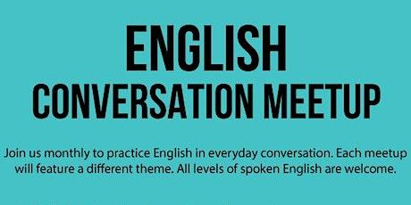 English Conversation Meetup tickets