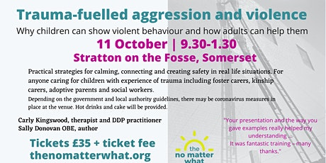 Trauma-fuelled aggression and violence tickets