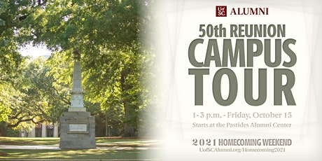 Homecoming 2021: 50th Reunion Campus Tour tickets