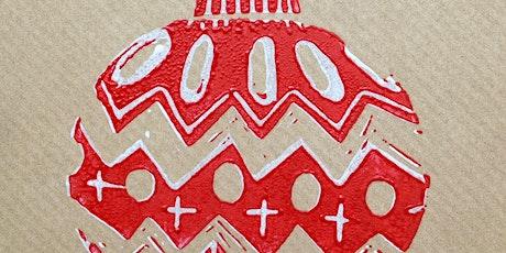 Christmas Card Lino Cutting Workshop tickets