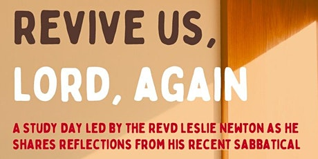 Revive us, Lord, again tickets