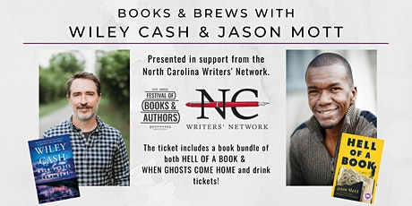 Books & Brews with Wiley Cash and Jason Mott tickets