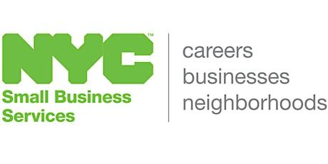 NYC SBS Bonding Svcs: QuickBooks for Construction Virtual Clinic 10-28-21 tickets