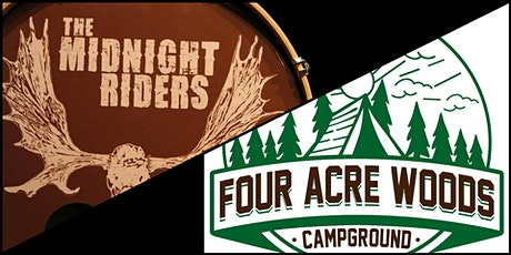 Live Music Camping Weekend (featuring The Midnight Riders) tickets