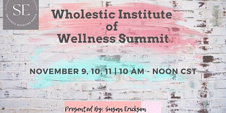 Wholestic Institute of Wellness Summit tickets