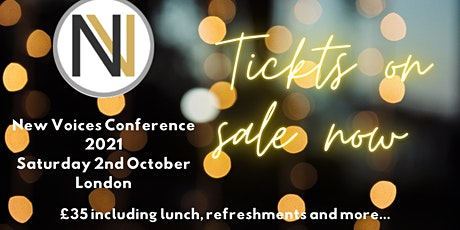 New Voices Conference 2021 tickets