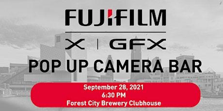 FUJIFILM Pop Up Camera Bar tickets