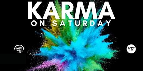 KARMA SATURDAYS (MTP X PUM) tickets