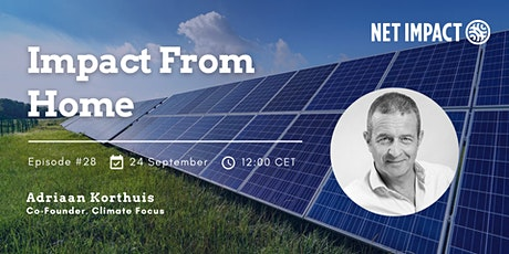 Impact From Home #28: Scaling Voluntary Carbon Markets with Integrity tickets