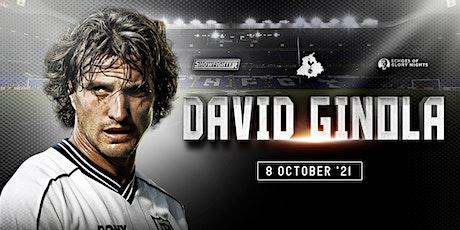 Evening with David Ginola tickets