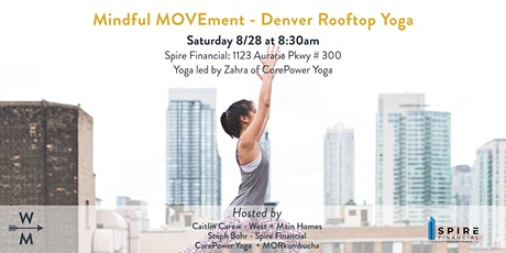 Mindful MOVEment - Downtown Denver Rooftop Yoga tickets