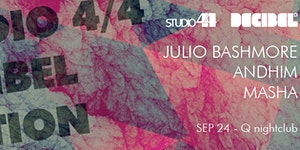 [dB2015 Showcase] JULIO BASHMORE (dj) ANDHIM (dj)...