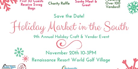 Holiday Market in the South (9th Annual Holiday Craft & Vendor Event) tickets