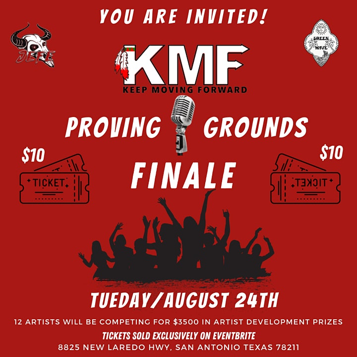 FINALE - The Open Mic Proving Grounds -Presented By Keep Moving Forward USA image