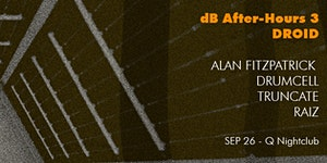 [dB2015 After-Hours] ALAN FITZPATRICK DRUMCELL (dj)...