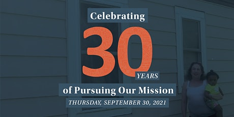 Alliance Housing Inc. 30th Anniversary Fundraising Event tickets