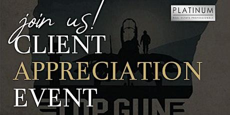 Client Appreciation Event tickets
