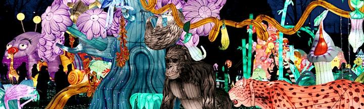 LuminoCity Festival Holiday Lights at Roer's Zoofari image