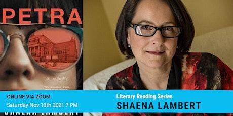 Literary Reading Series: Shaena Lambert tickets