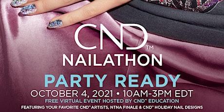 CND NAILATHON - Party Ready Tickets