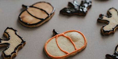 Online Class: Halloween Cookie Decorating tickets