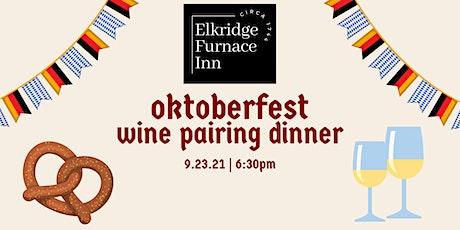 Oktoberfest Wine Pairing Dinner tickets