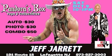 Jeff Jarrett Meet & Greet at Pandora's Box Toys & Collectibles tickets
