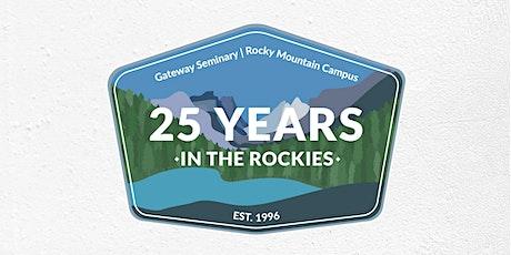 RMC 25th Anniversary   Gateway Seminary tickets