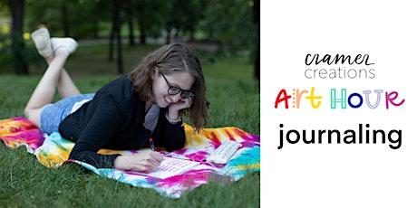 Art Hour: Journaling tickets