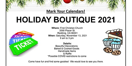 Holiday Boutique 2021 tickets
