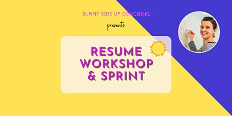 Free Resume Workshop and Sprint tickets