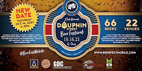 Dauphin Street BeerFest 2021 Starting at Loda Bier Garten tickets