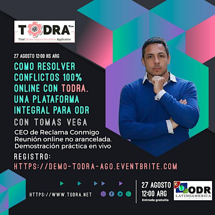 Imagen de Como resolver conflictos 100% online con TODRA