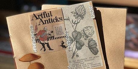 Pamphlet Bound Sketchbook Workshop with Emma Goldman tickets