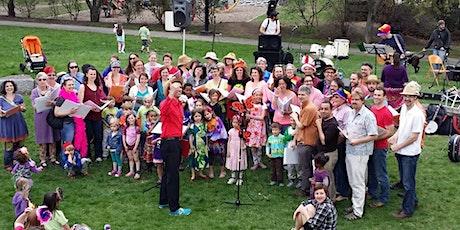 SingPositive: Outdoor Semester Launch tickets