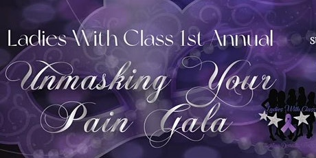 Unmasking Your Pain Gala tickets