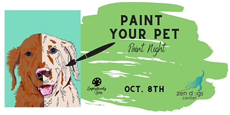 Paint Your Pet at Zen Dogs Center tickets